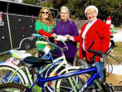 Nature Coast Unitarian Universalists Donate Bicycles and Money to FRC